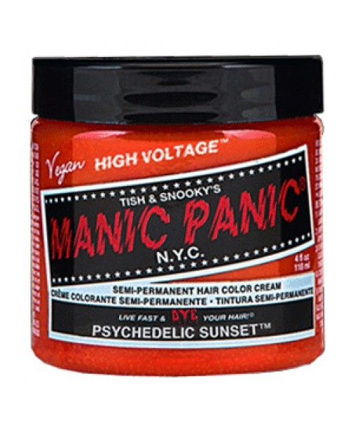 Vopsea de par portocaliu Manic Panic - Psychedelic Sunset