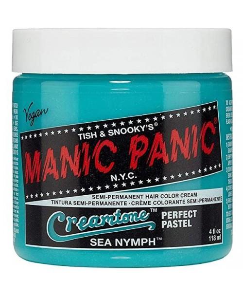 Vopsea de par albastra Manic Panic Creamtones Sea Nymph