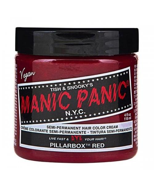 Vopsea de par rosie Manic Panic - Pillarbox Red