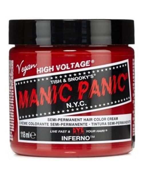 Vopsea de par rosie Manic Panic - Inferno