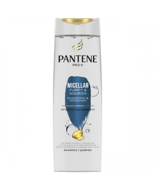 Sampon Pantene Pro-V Micellar Purify & Nourish pentru par gras 400ml