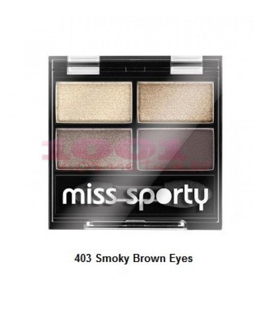Fard de pleoape Miss Sporty Smoky Brown Eyes 403