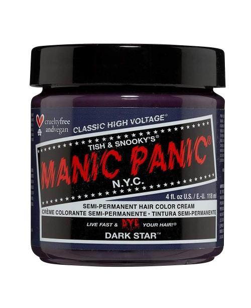 Vopsea de par Manic Panic argintiu inchis - DARK STAR