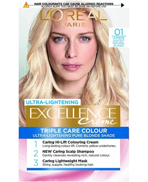Vopsea de par L'Oreal Excellence Creme 0.1 Blond natural deschis