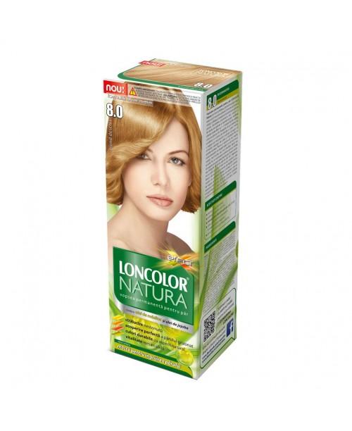Vopsea Loncolor Natura - Blond deschis 8.0