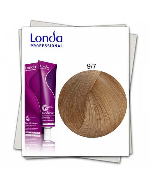 Vopsea Londa Professional 9/7 blond luminos maroniu 60ml